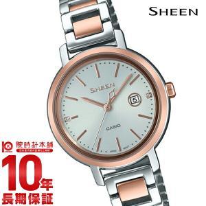 カシオ シーン CASIO SHEEN ソーラー ステンレス  レディース 腕時計 SHS-4525SPG-7AJF(予約受付中) 10keiya