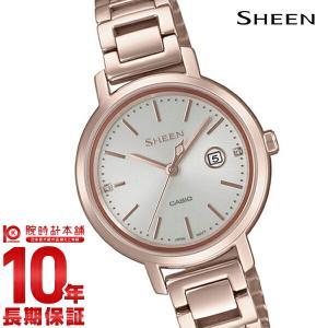 カシオ シーン CASIO SHEEN ソーラー ステンレス  レディース 腕時計 SHS-4525CG-4AJF(予約受付中) 10keiya