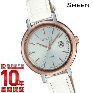 カシオ シーン CASIO SHEEN ソーラー ステンレス  レディース 腕時計 SHS-4525PGL-7AJF(予約受付中) 10keiya