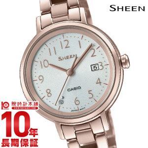 カシオ シーン CASIO SHEEN ソーラー  レディース 腕時計 SHS-D100CG-7AJF|10keiya