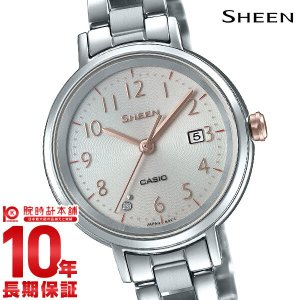 カシオ シーン CASIO SHEEN ソーラー  レディース 腕時計 SHS-D100D-4AJF|10keiya