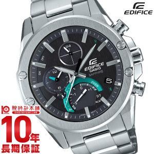 カシオ [Bluetooth搭載 ソーラー時計]EDIFICE(エディフィス)Slim Line(スリム ライン) EQB-1000YD-1AJFの商品画像|ナビ