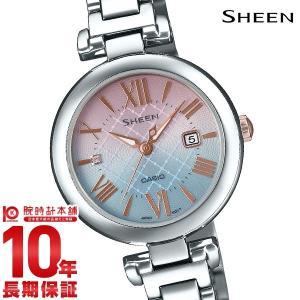 カシオ シーン SHEEN ソーラー SHS-4502LTE-7AJR レディース|10keiya