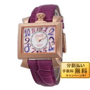 最大26倍 24日25日26日限定 ガガミラノ GaGaMILANO ナポレオーネ 40MM  レディース 腕時計 6031.4 PU|10keiya