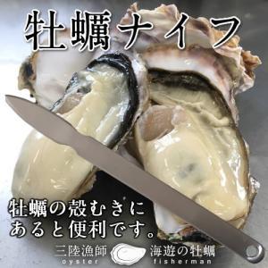 牡蠣ナイフ 1本 あると便利な殻付きカキの殻むき専用ナイフ ヘラ|1123