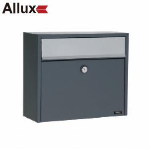 郵便ポスト 『パブリック』 アンスラサイト(グレー)xグレー (ALLUX-LT150) F47271|1128