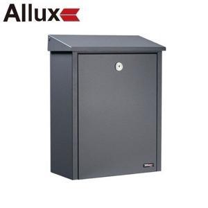 郵便ポスト 『パブリック』 アンスラサイト(グレー) (ALLUX-200) F54203|1128