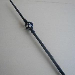 ロートアイアン子柱 (JHIK-01) 取付簡単 ウッドデッキフェンスに|1128