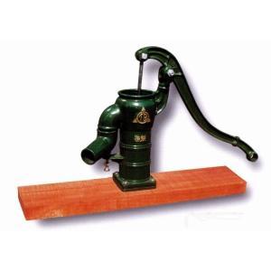 手押しポンプ(井戸ポンプ)TB式共柄ポンプ:木製台付きタイプ(T32PDF) 1128