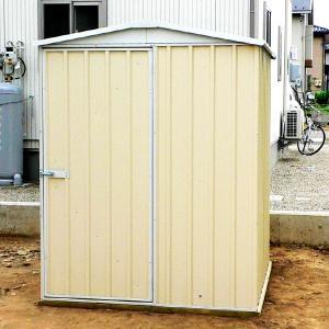 物置 スチール物置 ユーロ物置 2.19平米(1514F1) 床キット別売り コンクリート用アンカーキット付き 1128