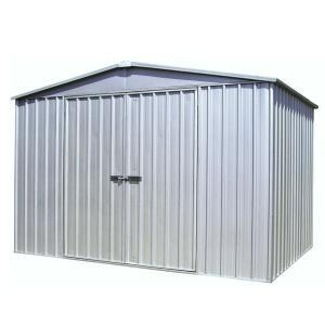 物置 スチール物置 ユーロ物置 8.76平米(3029F2) 床キット別売り コンクリート用アンカーキット付き 1128