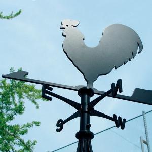 風見鶏 ホームサイズ にわとり SSシリーズ KZSS-鶏-(A/B) 風見鶏 新居 装飾 ヨーロッパ オーナメント エクステリア|1128