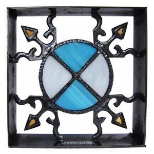 ブロック 壁飾り シャインガラス ブロック200 『SUN』|1128