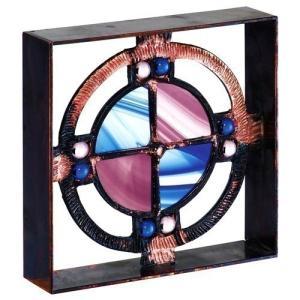 ブロック 壁飾り シャインガラス ブロック200 『ベネチアンBA』|1128