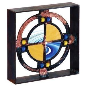 ブロック 壁飾り シャインガラス ブロック200 『ベネチアンBY』|1128