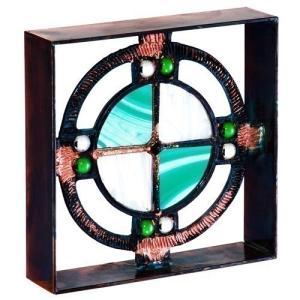 ブロック 壁飾り シャインガラス ブロック200 『ベネチアンGW』|1128