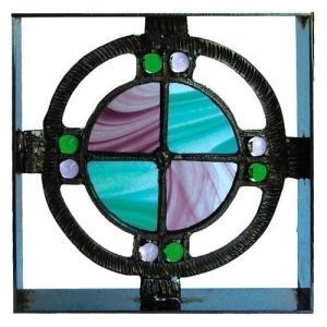 ブロック 壁飾り シャインガラス ブロック200 『ベネチアンGA』|1128