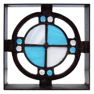 ブロック 壁飾り シャインガラス ブロック200 『ベネチアンSW』|1128