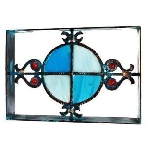 ブロック 壁飾り シャインガラス 『オーストラリア煉瓦』|1128