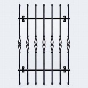 鋳物 窓格子・面格子 H1100 W680(MGF117306) 1128