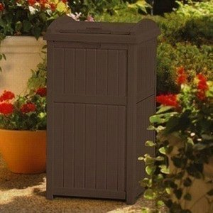 物置 TOSHO サンキャスト ウッディーダストボックス(ブラウン) カラー: ブラウン W40×D41×H80cm (GH1732J)(約6.89kg)|1128