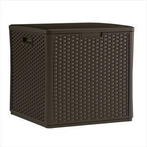物置 ラタン調60ガロンキューブボックス|1128