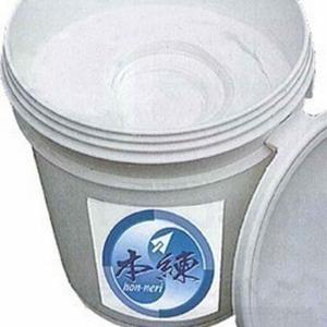 既練り漆喰 本練 (ほんねり)/ライトグレー 20kg/缶 (約16.5平米分) コテ用|1128