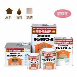 防虫 防腐・キシラデコール 1.6L タンネングリーン カンペハピオ|1128
