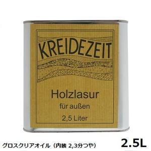 プラネットカラー グロスクリアオイル 2.5L 内装用クリアー(2.3分つや)|1128