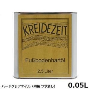 プラネットカラー ハードクリアオイル 0.05L 内装用クリアー(つや消し)|1128