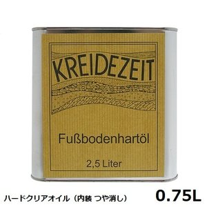 プラネットカラー ハードクリアオイル 0.75L 内装用クリアー(つや消し)|1128