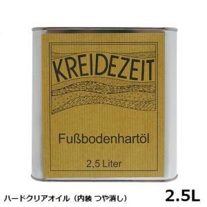 プラネットカラー ハードクリアオイル 2.5L 内装用クリアー(つや消し)|1128