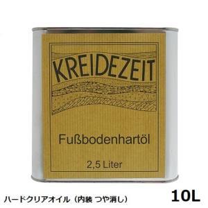 プラネットカラー ハードクリアオイル 10L 内装用クリアー(つや消し)|1128