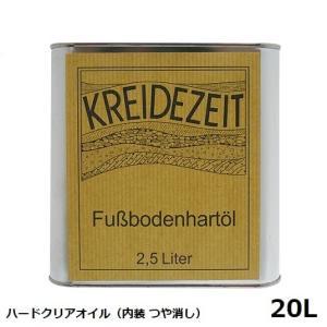 プラネットカラー ハードクリアオイル 20L 内装用クリアー(つや消し)|1128