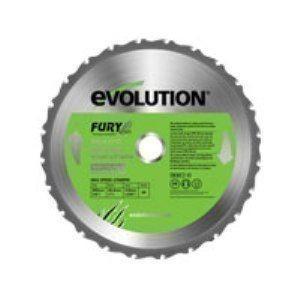 エボリューション 替刃 255mm/万能切断チップソー/FURY5用  EVOLUTION|1128