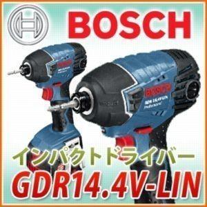 電動工具 ボッシュ BOSCH バッテリーインパクトドライバー GDR14.4V-LIN|1128