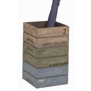 傘立て 『アンティーク ボックス』 ブルー (SR-0821-BL-1200) おしゃれ Antique Box 【北海道・沖縄・離島 送料別途見積】|1128