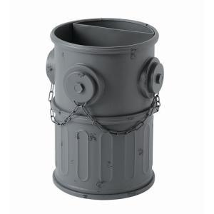 傘立て 消火栓 グレー (SI-2847-GY-1700) ダストボックス ゴミ箱 ※北海道・沖縄・離島送料別途見積|1128