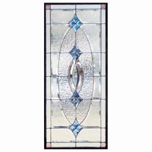 ステンドグラス (SH-K01) 一部鏡面ガラス 913×400×18mm ピュアグラス Kサイズ (約11kg) 【メーカー在庫限り】 ※代引不可|1128