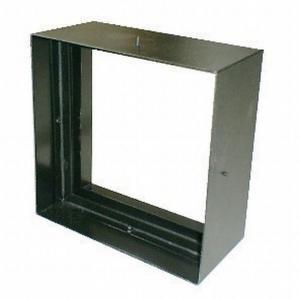 ステンドグラス専用ステンレス枠 SH-D用 (200角 エクステリア用) SHF-VD1 ブラック ※代引不可|1128
