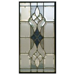 ステンドグラス (SH-K02) 一部鏡面ガラス 500×260×18mm ピュアグラス Kサイズ (約4kg) 【メーカー在庫限り】 ※代引不可|1128