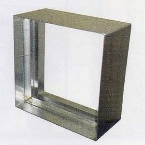 ステンドグラス専用ステンレス枠 SH-E用 (300角 エクステリア用) シルバー色 SHF-WE1 ※代引不可|1128