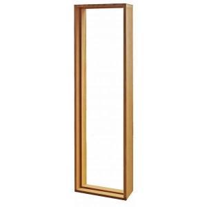 ステンドグラス専用木枠 SH-B用 (室内用) タモ集成材 SHF-ZB1 ※代引不可|1128