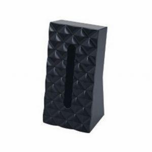 ティッシュケース 『ダイヤ』 ブラック (6415) ティッシュボックス おしゃれ スタンド|1128