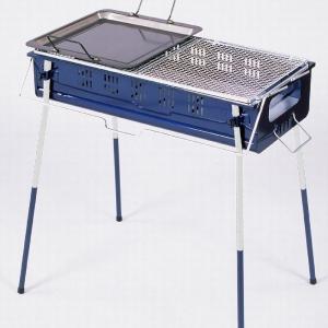 バーベキューコンロ バーベキューグリル BBQ 炭足しカンタン BBQコンロ 鉄板付 CB-650ST2 焼肉 BBQコンロ キャンプ|1128