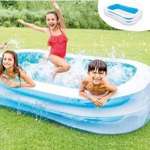 ビニールプール 家庭用 プール ファミリープール インテックス INTEX 大型 262cm スイムセンタファミリープール 送料無料|1128