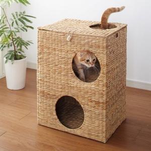 猫ちぐら  キャットプレイハウス  クロシオ キャットハウス ペットハウス 28646   北海道・沖縄・離島送料別途見積 1128