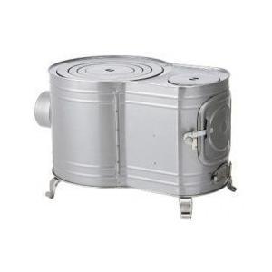 ホンマストーブ 時計型薪ストーブ・カマドシリーズ 時計1型ストーブ AF-60 12299 W400×D600×H345mm 5.9kg|1128