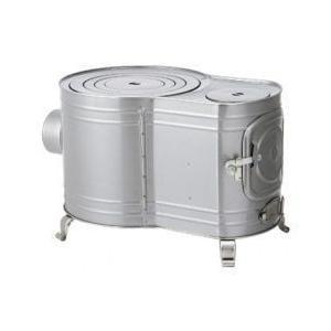 ホンマストーブ 時計型薪ストーブ・カマドシリーズ 時計2型ストーブ AF-52 12300 W350×D520×H345 4.6kg|1128