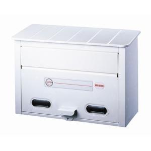 郵便ポスト カラーポスト ホワイト FH-30W メールボックス 鍵なし|1128
